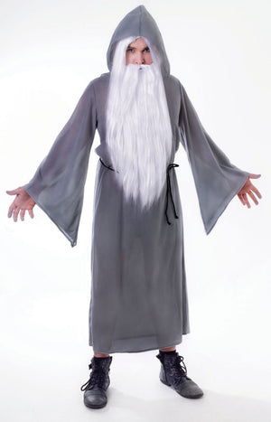 Adult Grey Wizard Robe