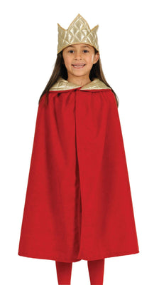 Childs Unisex Nativity Tabard- King  Red