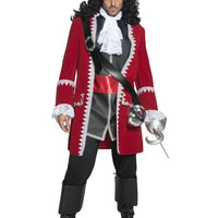 Pirate Captain Fancy Dress Costume