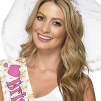Hen Night Brides Veil