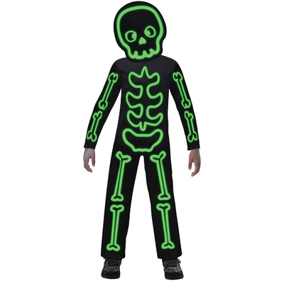GID Stick Skeleton Costume