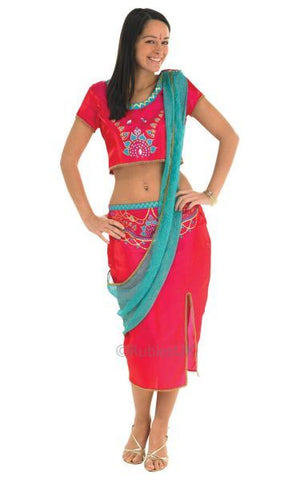 Bollywood Starlet Red Fancy Dress Costume