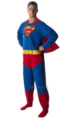 Superman Onesie Adult Costume