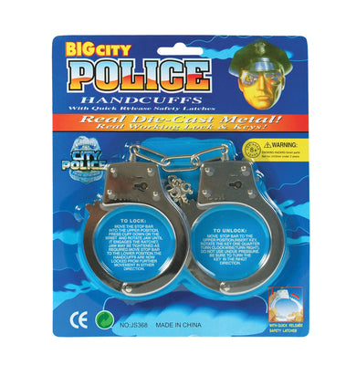 Handcuffs Carded (Metal)