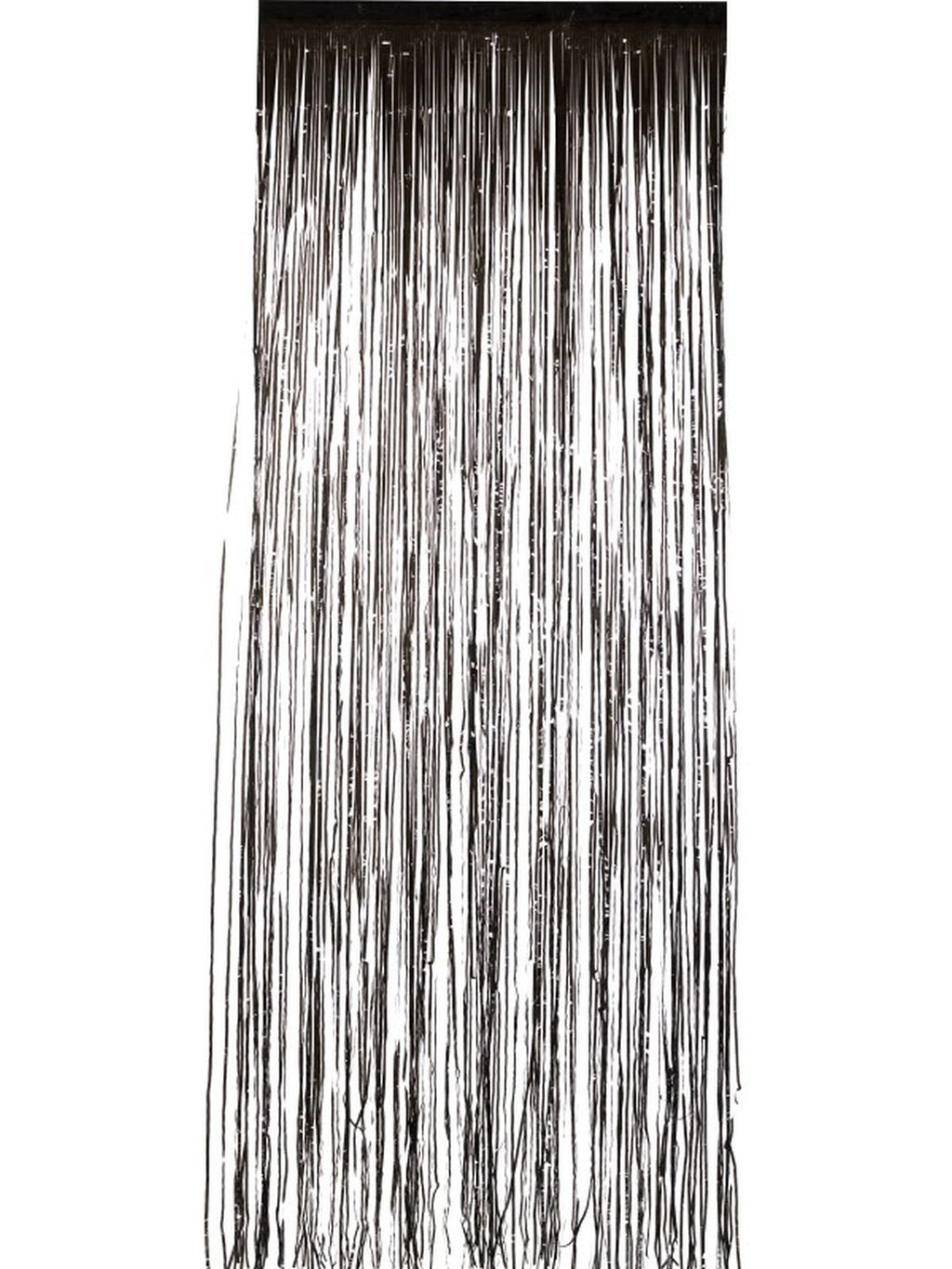 Shimmer Curtain Black