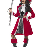 Women's Authentic Lady Captain Costume