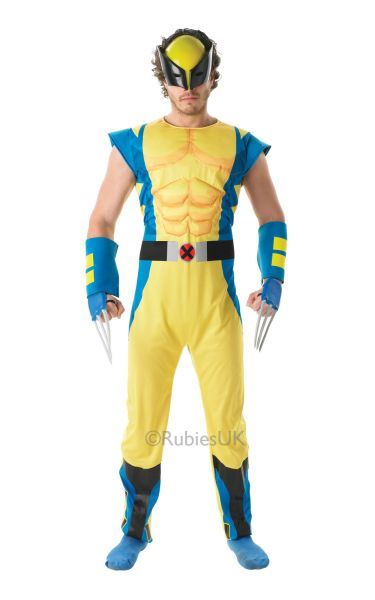 Adults Wolverine Deluxe Costume