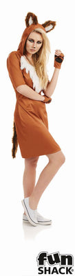 Urban Fox Women's Fancy Dress Costume