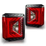 G4 Tail lights Red lens