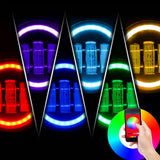 Jeep Wrangler LED PROJECTOR HALO  RGB HEADLIGHTS & RGB FOG COMBO