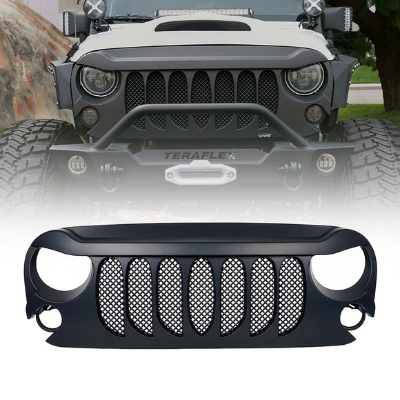 Jeep Wrangler - Beast Grille with Mesh