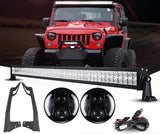 Jeep JK - Night Back Headlights &  Light bar package