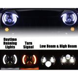 Night Back LED Headlights