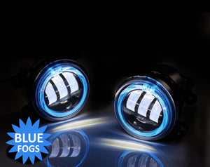 Led Fog Lights with Blue Halos