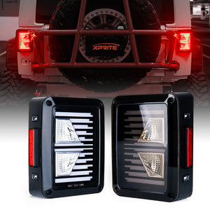 G6 Linear Series LED Taillights For 2007 - 2018 Jeep Wrangler JK JKU