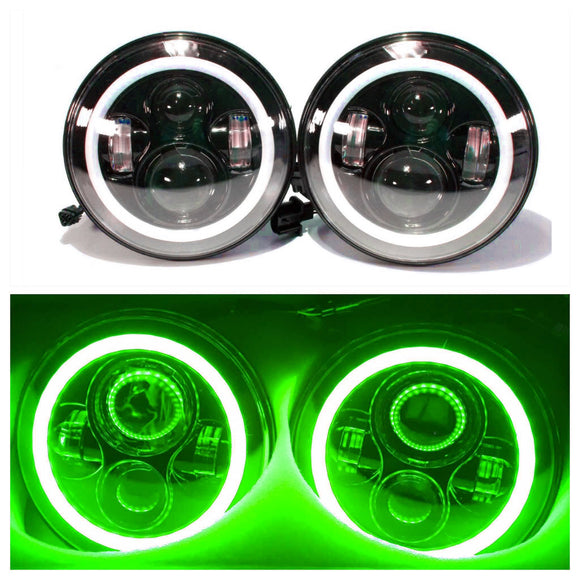 LED Projectors GREEN halos