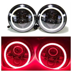 LED Projectors Red halos