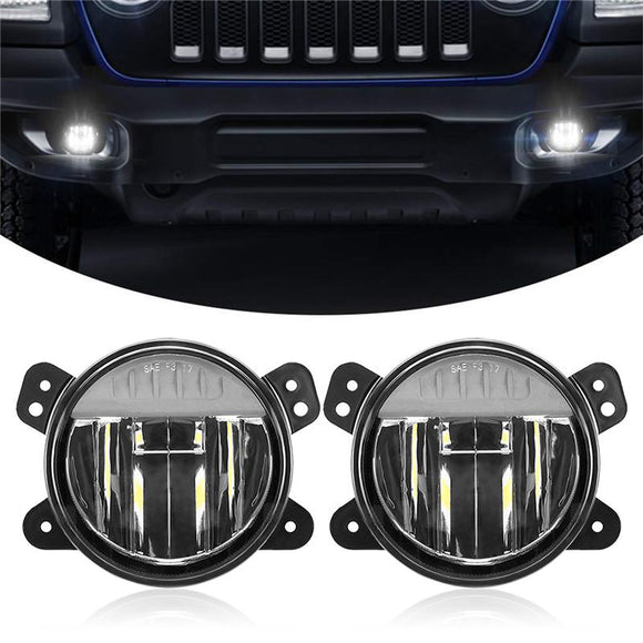 LED Fog Light Assembly Kit for Jeep Wrangler JL 2018 2019