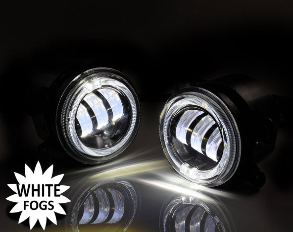 Led Fog Lights with White Halos