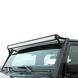 Jeep Wrangler 52 Inch Lighbar + Mounting Brackets