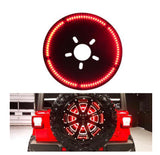 Jeep Wrangler JL/ JLU 3rd Brake Light LED Ring