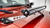 "Jeep JK Pack  07-16  20"" Light Bar ( Single Row ) , Hood Brackets And Harness"
