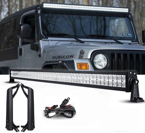 "Jeep TJ Pack 1 97 - 2006 50"" Light bar and brackets"