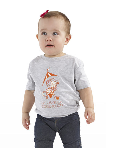 Circus Cruelty Crosses the Lion Toddler Tee