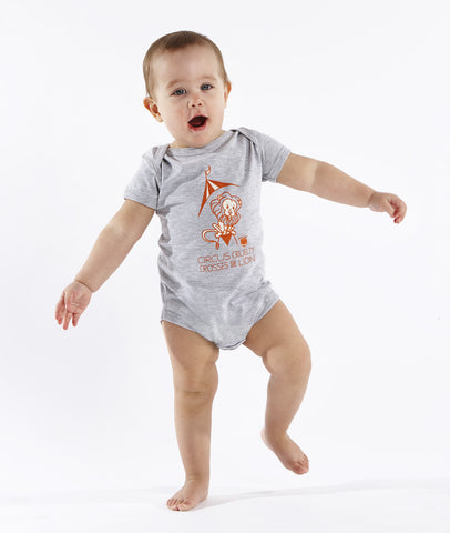 Circus Cruelty Crosses the Lion Children's Onesie