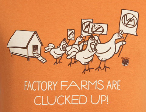 My Voice 'Factory Farms are Clucked Up!' Men's Tee