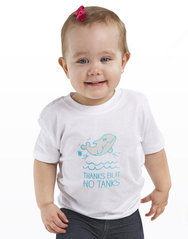 My Voice 'Thanks But No Tanks' Toddler Tee