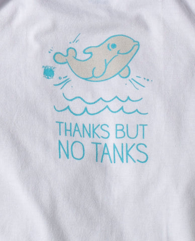 My Voice 'Thanks But No Tanks' Onesie