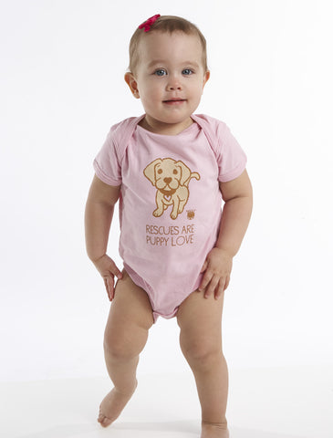 Rescues Are Puppy Love Children's Onesie