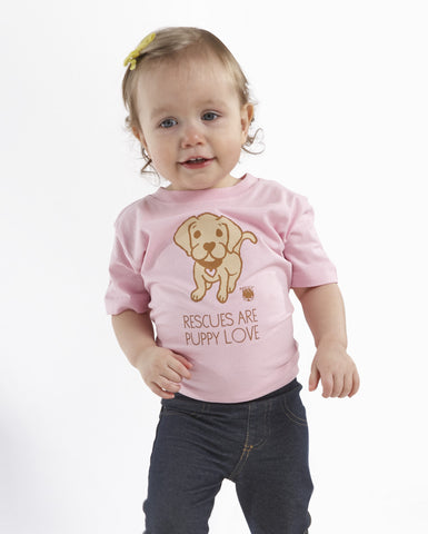 My Voice 'Rescues are Puppy Love' Toddler Tee