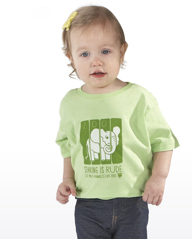 My Voice 'Staring Is Rude' Toddler Tee