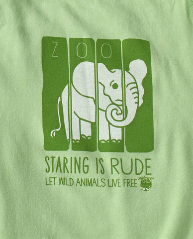My Voice 'Staring Is Rude' Onesie