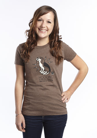 Hooowl Is This Still Legal? Women's Short Sleeve Tee
