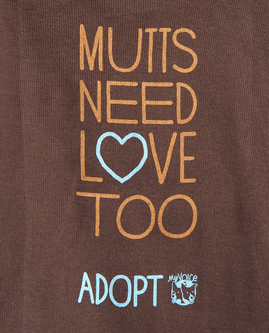 'Mutts Need Love Too' Doggie Tee
