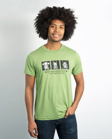 My Voice 'Don't Buy Into PediGREED' Men's Tee