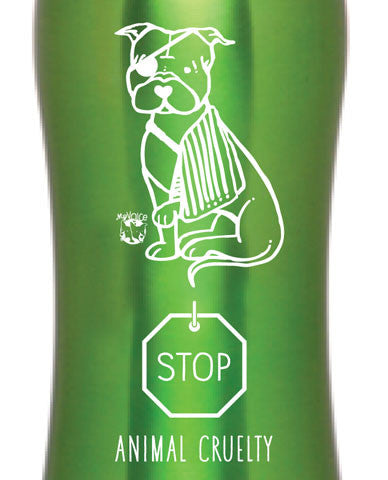 My Voice 'Stop Animal Cruelty' Sports Bottle