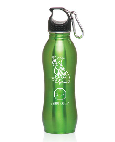 Stop Animal Cruelty Sports Bottle