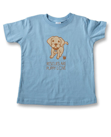 Rescues Are Puppy Love Youth Tee