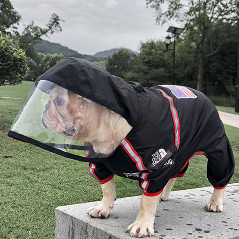 "PUPREMExTHEDOGGOFACE ""facemask"" windbreaker #118"