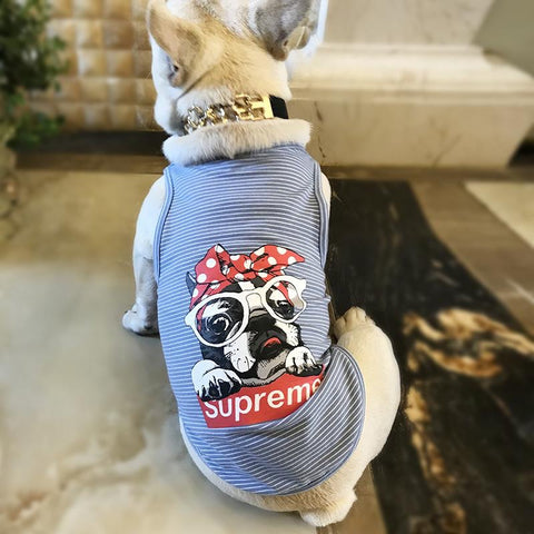 $UPREME frenchie tank top #2