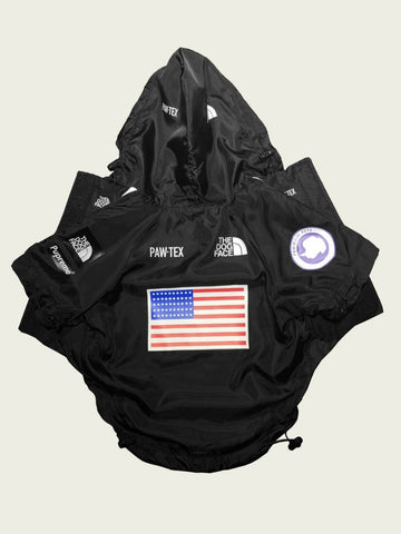 The Doggo Face x Pupreme windbreaker hoodie #122