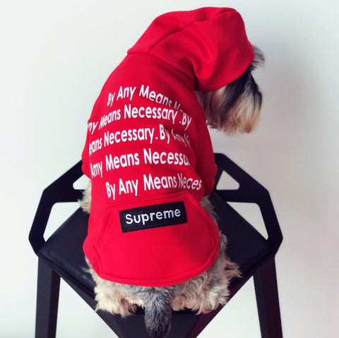 PUPREME ANY MEANS POCKET HOODIE #104