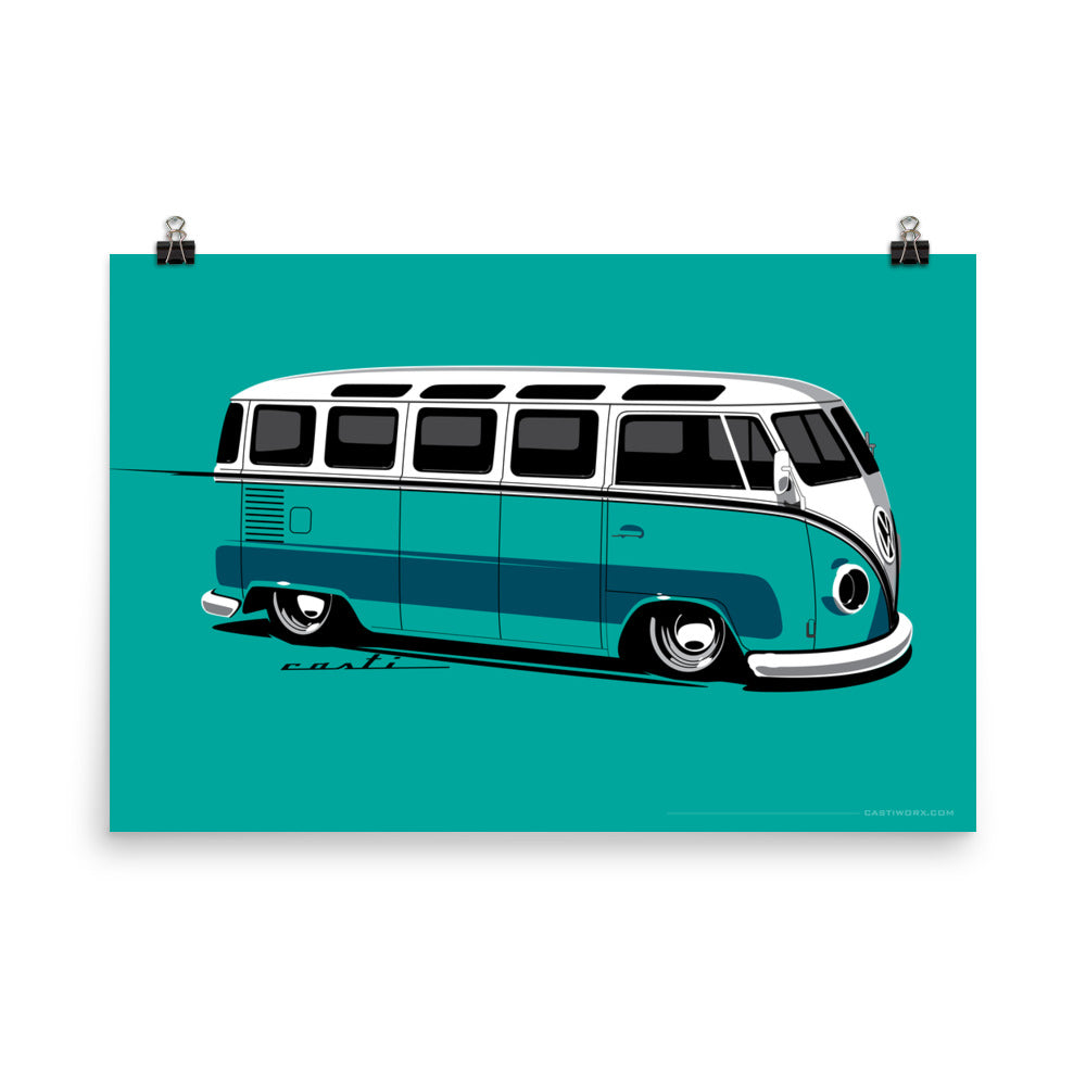 VW Bus Dropped!