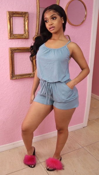 TORY CHILL ROMPER (BLUE GREY)