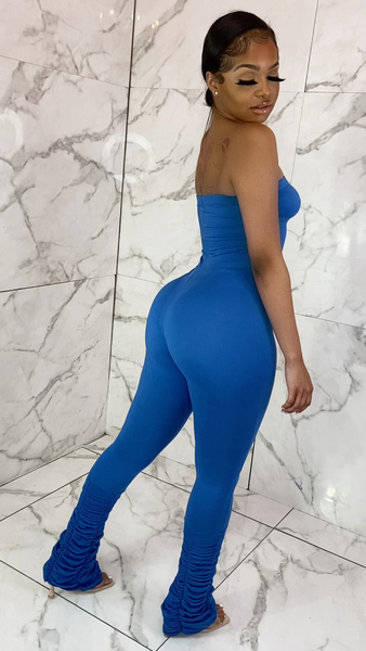 TAMIR STACK JUMPSUIT (ROYAL)
