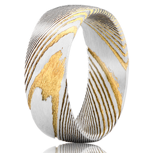 """Poseidon"" Gold Vein Ring"